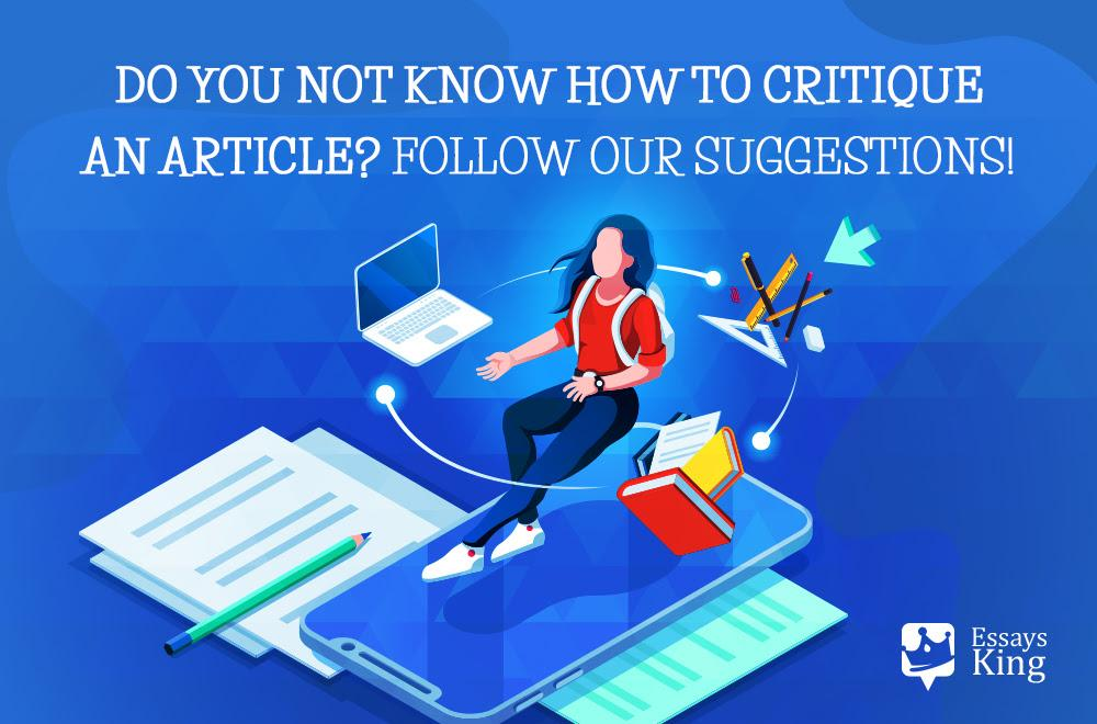 How to Critique an Article? Follow Our Recommendations!